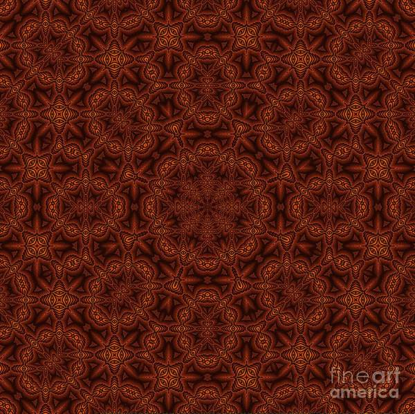 Digital Art - Celtic Braid Textile Design by Doug Morgan