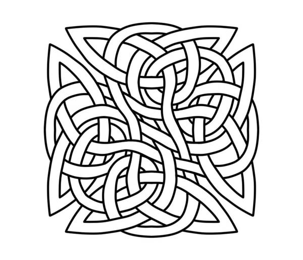 Drawing - Celtic Shield Knot 1 by Joan Stratton
