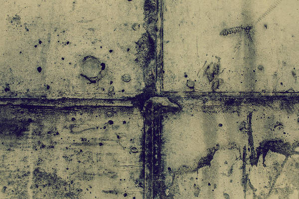 Wall Art - Photograph - Cement Wall by Hyuntae Kim