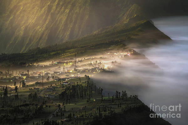Wall Art - Photograph - Cemero Lawang Village From Bromo by Bird Wachi