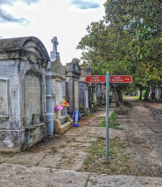 Cemetery #1 Art Print