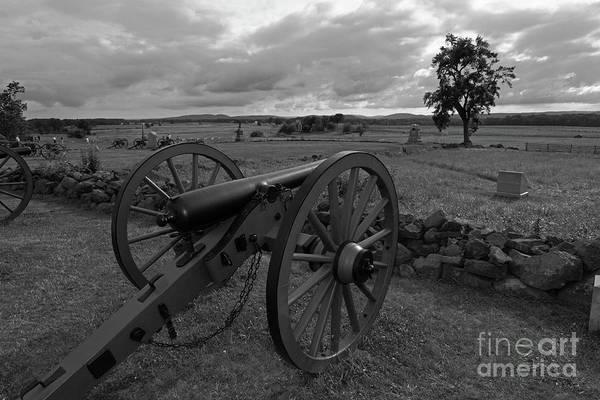 Cemetery Ridge Photograph - Cemetery Ridge Gettysburg Battlefield by James Brunker