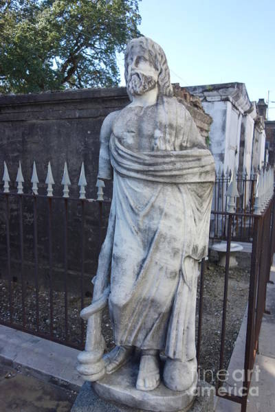 Photograph - Cemetery Statue - New Orleans by Susan Carella