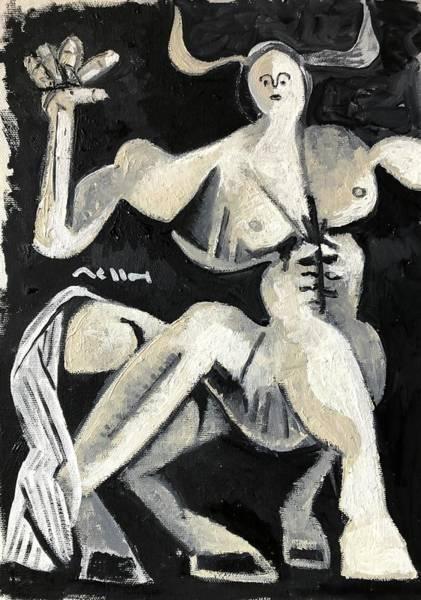 Greek Myths Wall Art - Painting - Centaur by Mark M Mellon