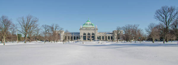 Photograph - Centenial Memorial Hall - Philadelphia Panorama by Bill Cannon