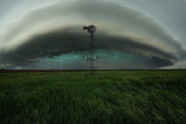 Severe Wall Art - Photograph - Center Of Attention  by Aaron J Groen