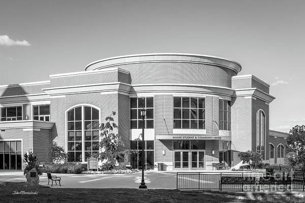 Photograph - Central Methodist University Student And Community Center by University Icons