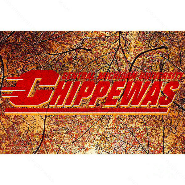 Central Michigan Chippewas Art Print