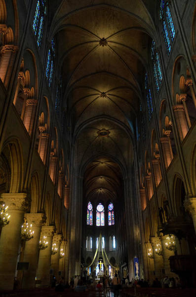 Photograph - Central Nave Of Notre Dame De Paris Before The Fire Of 2019 by RicardMN Photography