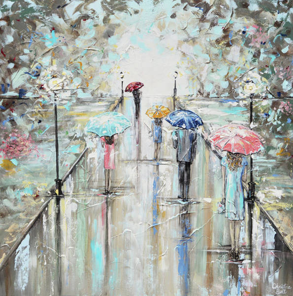Wall Art - Painting - Central Park by Christine Bell