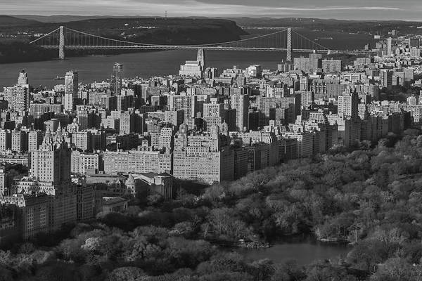 Photograph - Central Park Manhattan Nyc Bw by Susan Candelario
