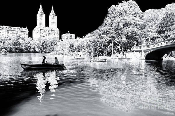 Photograph - Central Park New York City by John Rizzuto