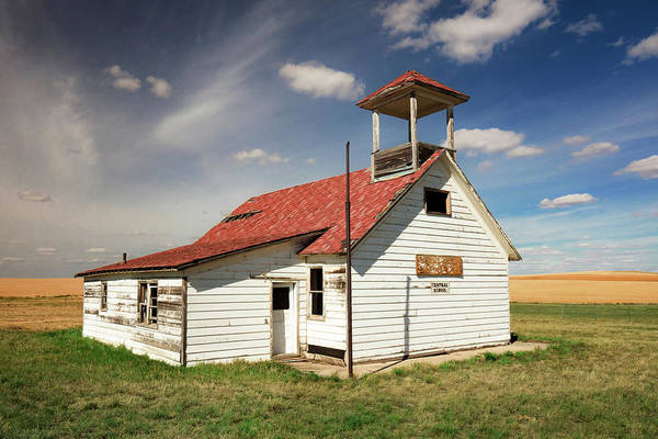 Schoolhouse Photograph - Central School by Todd Klassy