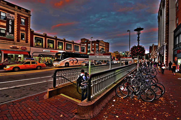 Photograph - Central Square Cambridge Ma by Toby McGuire