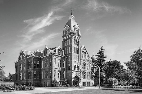 Photograph - Central Washington University Barge Hall by University Icons