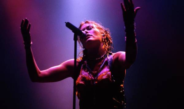 Photograph - Cerys Matthews Catatonia Glastonbury by Martyn Goodacre