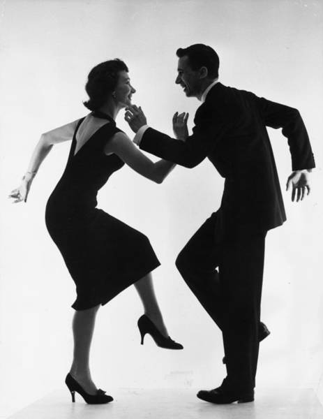 Cha-cha-cha Art Print by Thurston Hopkins