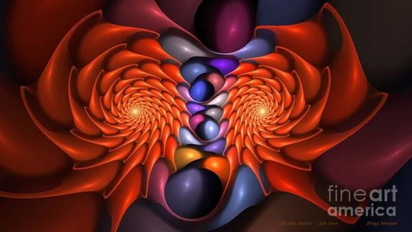 Digital Art - Cha Cha Dance by Doug Morgan