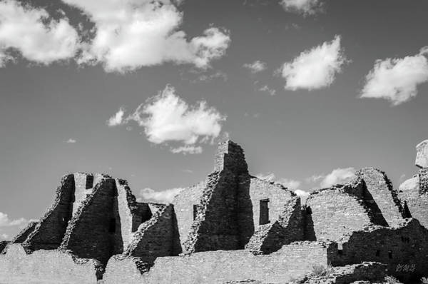 Photograph - Chaco Ruins I Bw by David Gordon