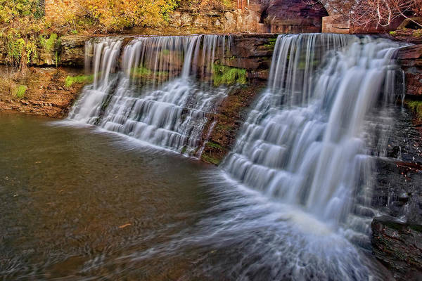Wall Art - Photograph - Chagrin Waterfall by Marcia Colelli