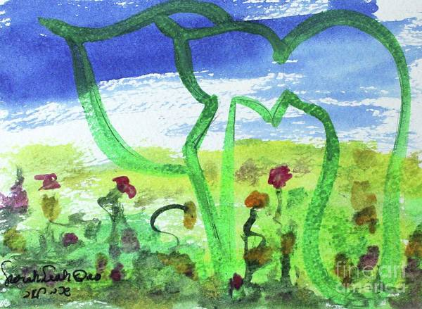 Painting - Chai Cc36 by Hebrewletters Sl