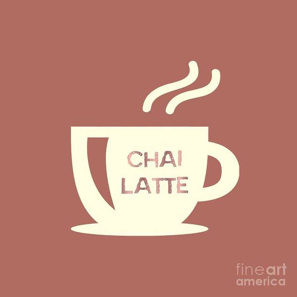 Digital Art - Chai Latte  by Rachel Hannah
