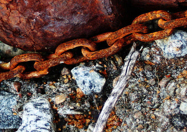 Photograph - Chained To The Past 2 by Sannel Larson