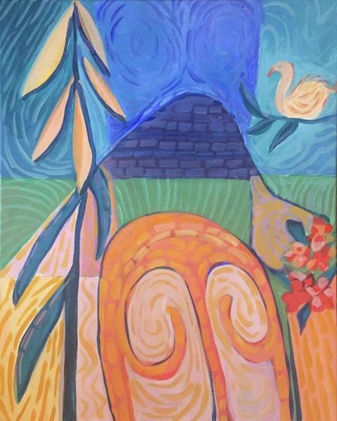 Painting - Chair For Matisse by Cherylene Henderson