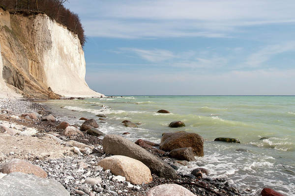 Jasmine Photograph - Chalk Cliffs by Typo-graphics