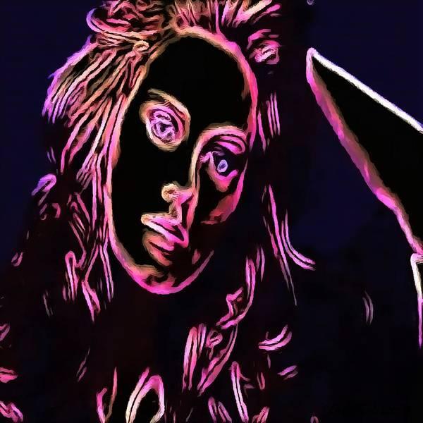 Digital Art - Chalk To Me by Catherine Lott