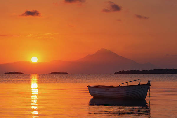 Photograph - Chalkidiki Sunrise by Evgeni Dinev