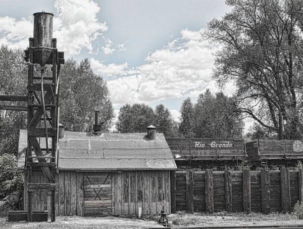 Wall Art - Photograph - Chama Railroad Stop by Rob Olson