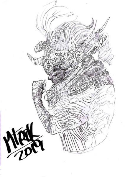 Alejandro Gutierrez Wall Art - Digital Art - Chaman by Alejandro Gutierrez
