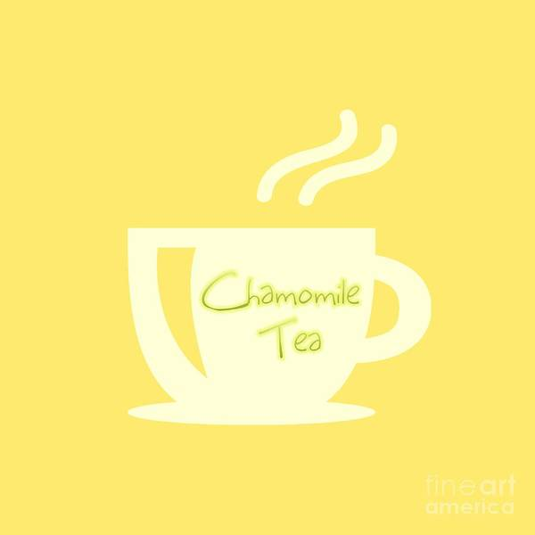 Digital Art - Chamomile Tea  by Rachel Hannah