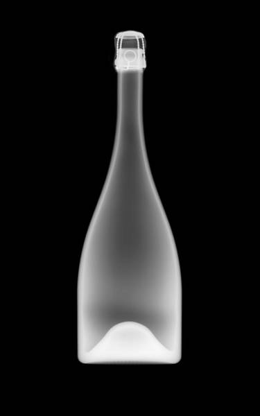Photograph - Champagne Bottle by Nick Veasey