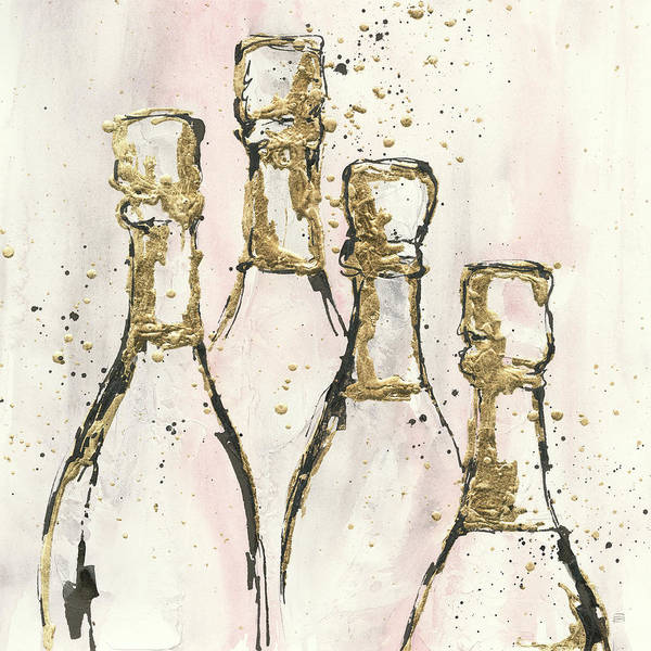 Wall Art - Painting - Champagne Is Grand II by Chris Paschke