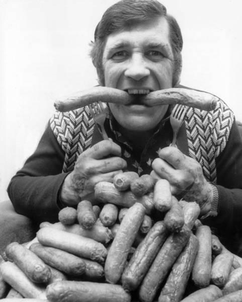 British Food Photograph - Champion Bangers by Ian Tyas