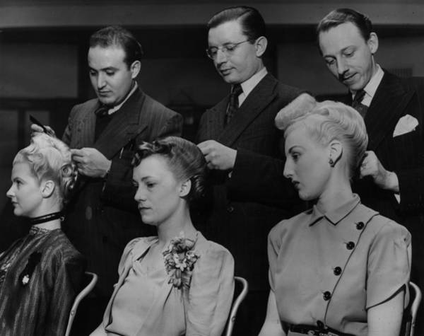 Contest Photograph - Champion Hairdressers by Harry Todd