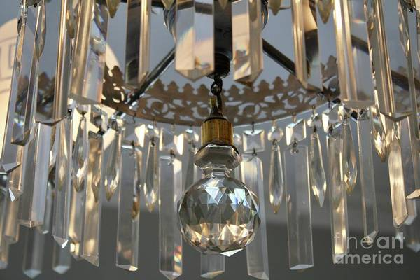 Photograph - Chandelier by Flavia Westerwelle