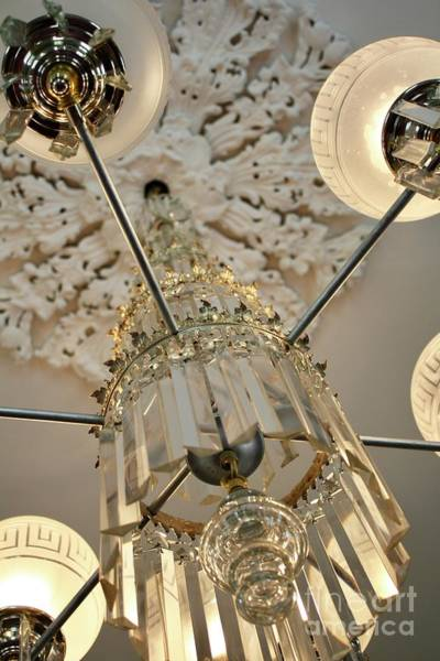 Photograph - Chandelier II by Flavia Westerwelle