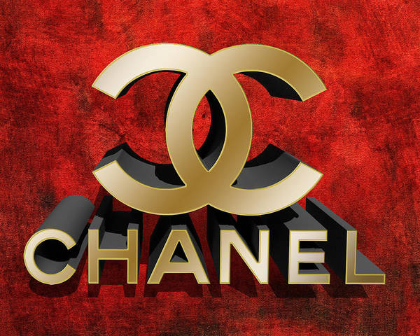 Digital Art - Chanel 3d by Chuck Staley