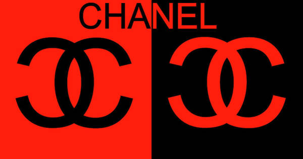 Mixed Media - Chanel Black And Red by Dan Sproul