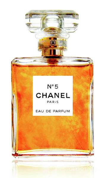 Photograph - Chanel No. 5 Showing Golden Glow by Doc Braham