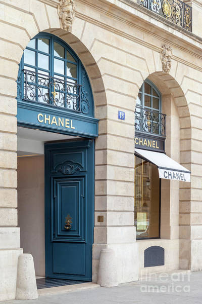 Photograph - Chanel Place Vendome by Brian Jannsen