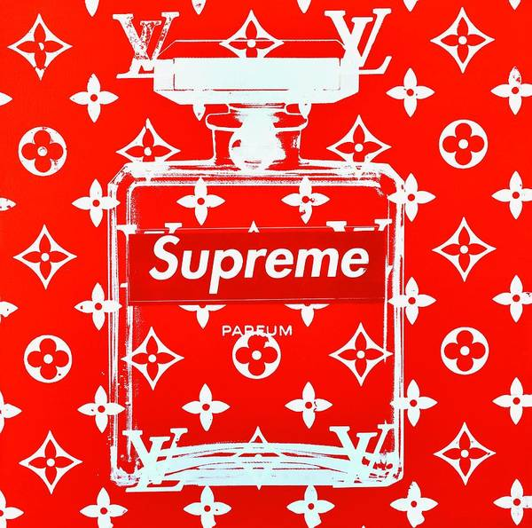Designer Wall Art - Painting - Chanel Supreme  by Shane Bowden