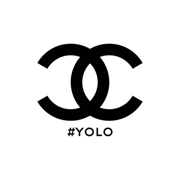 Wall Art - Painting - Chanel Yolo - You Only Live Once by Nikita