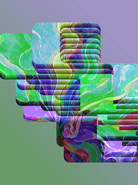 Wall Art - Digital Art - Changing Position  by Lawrence Allen