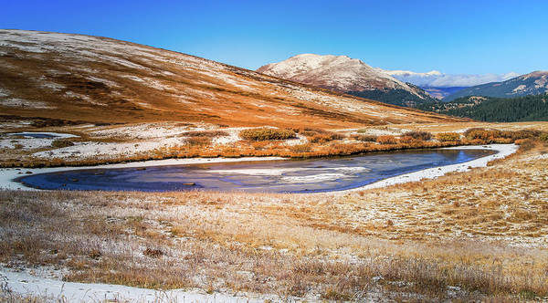 Photograph - Changing Seasons On Independence Pass Colorado by Dan Sproul