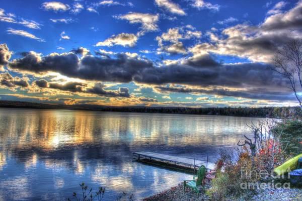 Madawaska Lake Photograph - Changing Seasons by Vickie Ketch