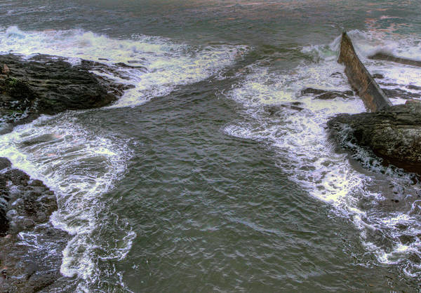 Camera Raw Photograph - Channel, Depoe Bay, Oregon by Brenton Cooper